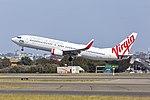 Virgin Australia (VH-YWD) Boeing 737-8FE(WL) at Sydney Airport (3).jpg