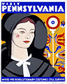 Visit Pennsylvania, where pre-revolutionary costumes still survive, WPA poster, ca. 1938.jpg