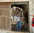 Visitors to the mosque, Jaffa (520608766).jpg