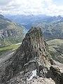 Vordere Spitze and Zervreilasee as seen from Zervreilahorn.jpg