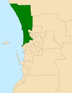 Electoral region of North Metropolitan