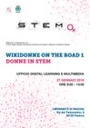 WDG - Locandina WikiDonne on the road Padova (Donne in STEM).pdf