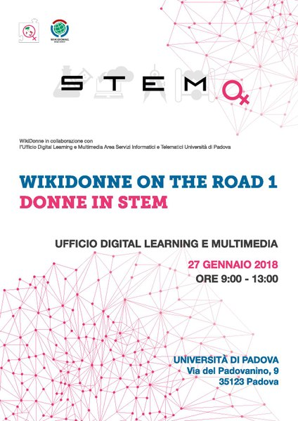 File:WDG - Locandina WikiDonne on the road Padova (Donne in STEM).pdf