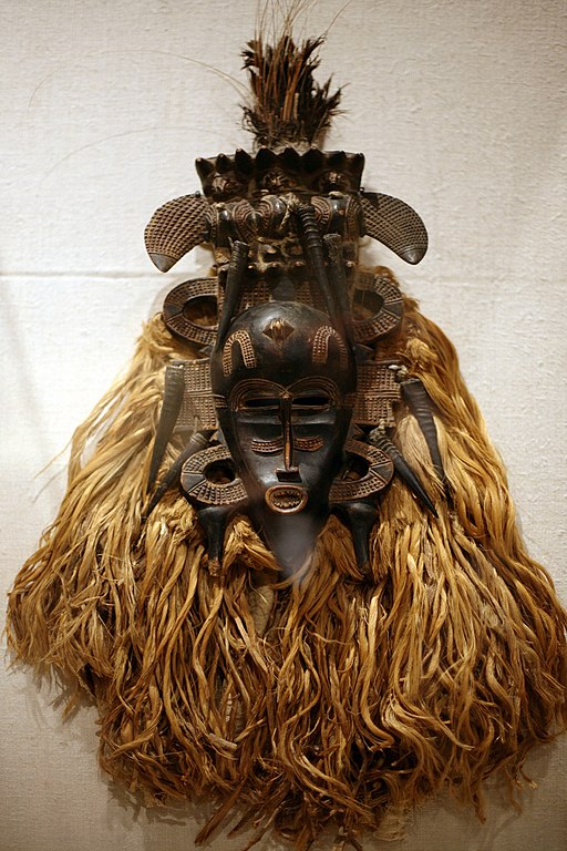 Explore the Arts of Africa, Oceania and the Americas Collection at the Metropolitan Museum of Art - MET Benin Ivory Mask African Face Mask - Kpeliye'e Sican Funerary Mask - Peru Ceremonial Axe -Papua New Guinea