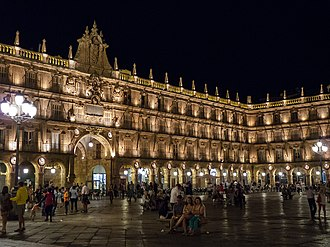 Plaza Mayor at night WLM14ES - 03082013 234425 SALAMANCA 0609 - .jpg