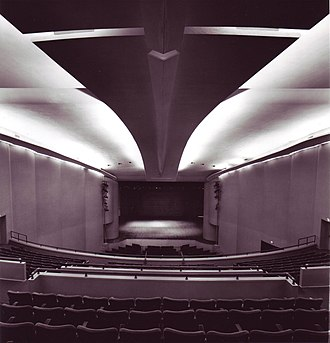 Wisconsin Union Theater - Image: WUT Interior b&w