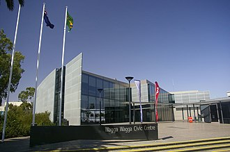 City of Wagga Wagga - Image: Wagga Wagga Civic Centre