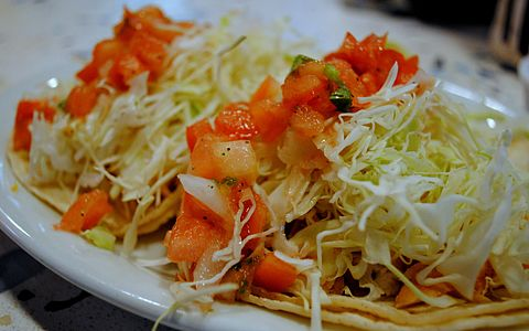 Rockin tacos norco for Wahoo fish taco recipe