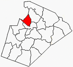 Leesville Township, Wake County, North Carolina - Image: Wake County NC Leesville Township