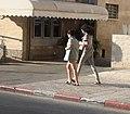 Walking girls in uniform Israel.JPG