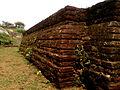 Walls of ruined Apsidal stupa at Gurubhaktulakonda.jpg