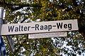 Walter-Raap-Weg Langenhagen Walter Raap 1917-1978, Mitbegründer Förderer Volkshochschule Blasorchester Schützengemeinschaft Musikschule Langenhagener Echo.jpg