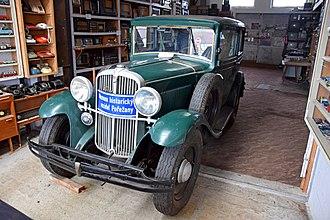 Fiat 514 - Walter Bijou in the museum in Pořežany, Czech Republic