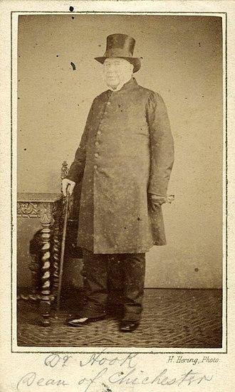 Walter Hook - Walter Hook circa 1860