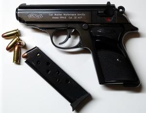 English: Walther PPK-E