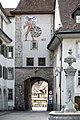 Wangen a. d. Aare - Zeitglockenturm, Stadtinnenseite.jpg