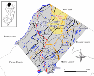 Wantage Township, New Jersey - Image: Wantage twp nj