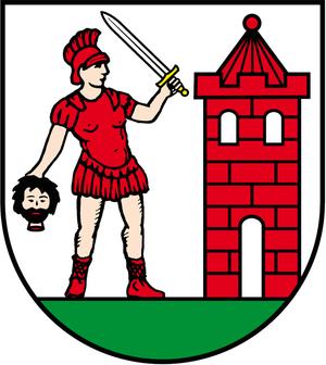 Schraplau - Image: Wappen Schraplau neu