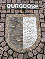 Wappenmosaik der Zähringerstadt Burgdorf auf dem Bertoldplatz in St. Peter.jpg