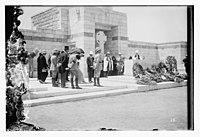 War cemetery consecration, Gaza-Belah, April 25, 1925 LOC matpc.08203.jpg