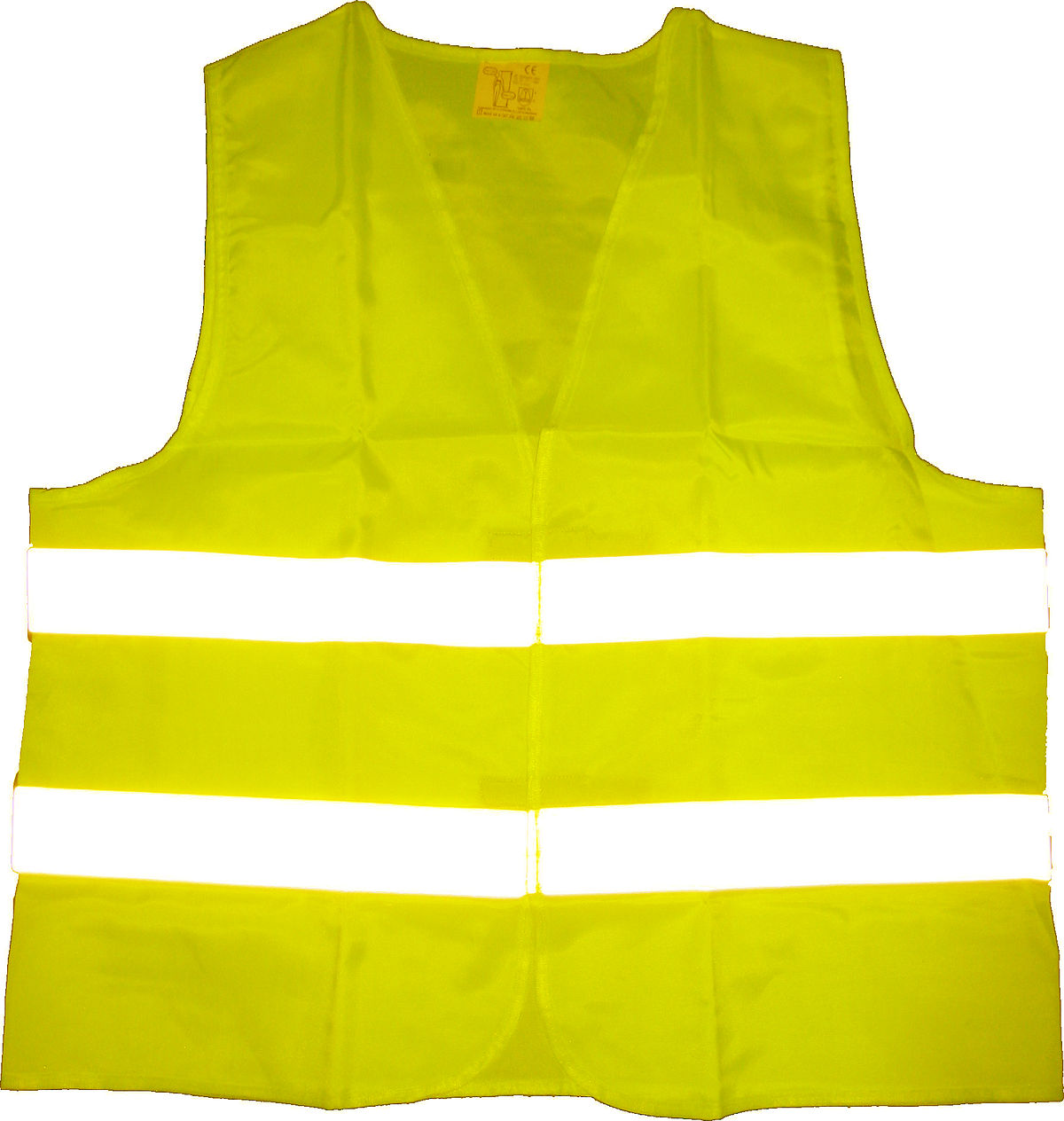 Gilet de securite obligatoirement jaune