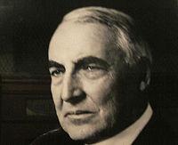 Warren G. Harding at Postal Museum in Washington, D.C. IMG 4366