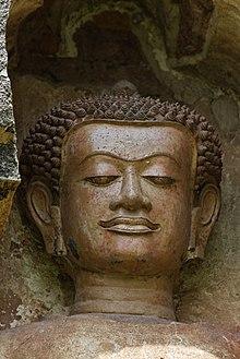 A Buddha from Wat Kukkut, Lamphun