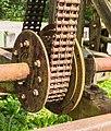 Waterloopbos. Natuurgebied van Natuurmonumenten. Detail golfmachine.jpg