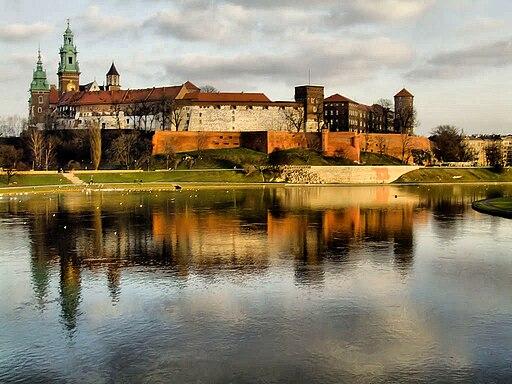 Wawel z mostu Debnickiego (2007)