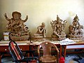 Wax forms for casting bronze statues.jpg