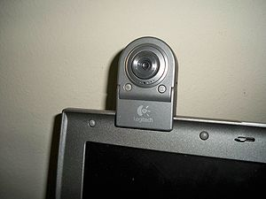 English: A Logitech QuickCam for Notebooks Del...