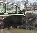 Weeping Water, Nebraska Randolph St bridge S abutment 1.JPG