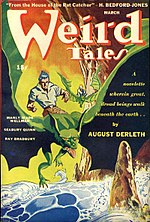Weird Tales cover image for March 1944