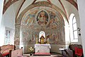 Weitensfeld Zweinitz Pfarrkirche hl Egydius Chor gotische Fresken 22102014 517.jpg
