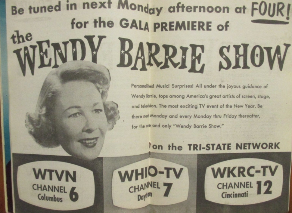 Wendy barrie 1953