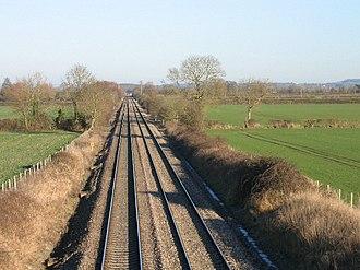 Stert and Westbury Railway - Near the site of Edington and Bratton station