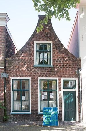 Museum Het Leids Wevershuis - Image: Wevershuisje Leiden Facade