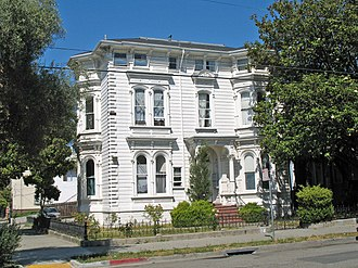 White Mansion (Oakland, California) - The White Mansion in 2009