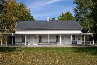 Whittier Friends Meeting House meeting house in Linn Count, Iowa