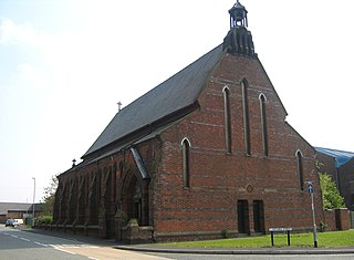 St Maries Church, Widnes Church in Cheshire, England