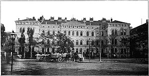 Medical University of Vienna - The Pathological–Anatomical Institute in 1898.