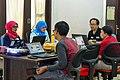 WikiLatih 1.0 (Wikipedia writing training session for beginner) for Minangkabau Wikipedia, Jakarta; August 2017 (01).jpg