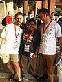 Wikimania 2007 worldwide wikimaniacs.jpg