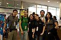 Wikimania 2009 - Mas amigos.jpg