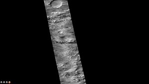 Wright (Martian crater) - Image: Wikiwright