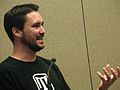 Wil Wheaton at Eureka Pannel.JPG