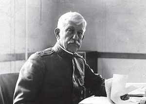 William C. Gorgas - Gorgas during World War I