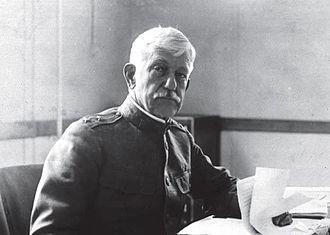 William C. Gorgas - Gorgas during World War I