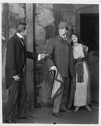 Sherlock Holmes (1916 film) - A publicity still of Sherlock Holmes