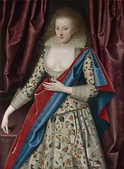 Portrait of a Young Lady, possibly Jane, Lady Thornhaugh